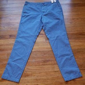 Gap Mens Slim Fit Khakis Light Blue 32X32 Fall2016